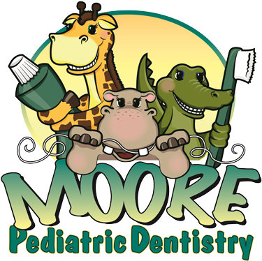 Logo for Moore Pediatric Dentistry in Roseville, CA.